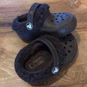 Toddler Croc Slippers, Size 6-7